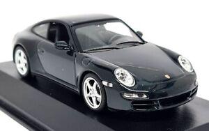 Minichamps 1/43 Porsche 911 Carrera 4S Coupe 997 Green Met Diecast Model Car