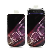 Housse coque étui pochette pour BlackBerry Curve 3G 9300 avec motif HF07