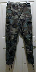 USMC-MARINE-CORPS-Jungle-Camouflage-Pants-Size-Small-Regular-FREE-Shipping