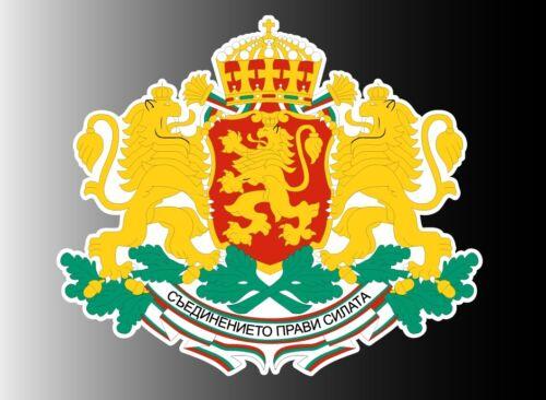 "Bulgaria coat of arms sticker vinyl decal 5/"" x 4.4/"""