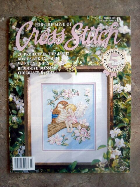 For the Love of Cross Stitch Magazine March 1993 - 20 Great Projects