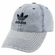 3b0c261a5f4 Buy adidas Men s Originals Relaxed Fit Strapback Cap Blue Chambray ...