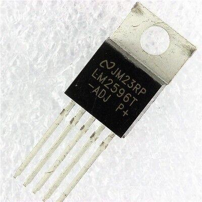 3PCS IC LM2596T-ADJ LM2596 NSC TO-220 Voltage Regulator 3A Adjustable NEW