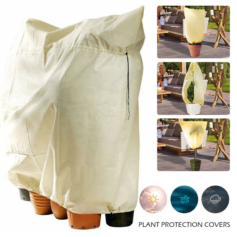 2 Color Garden Supplies Cover Plant Sack Frost Protection Thickening Antifreeze