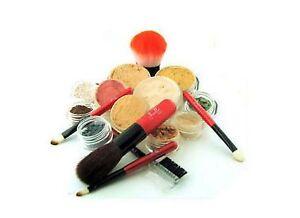 Minerals Makeup Kit 18 Pc Full Sizes Sheer Huge Bare Cover Medium | eBay