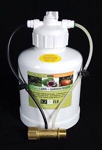 1010-HB-EZ-FLO-Fertilizer-Canister-Injector-1-Gallon-Brass-Hose-High-Pressure