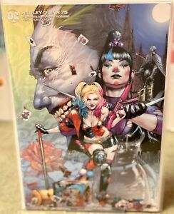 HARLEY-QUINN-75-UNKNOWN-COMICS-JAY-ANCELETO-VIRGIN-VARIANT-NM-SOLD-OUT
