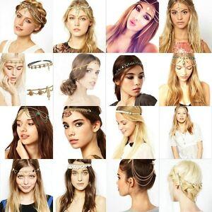 Women-Fashion-Metal-Rhinestone-Head-Chain-Jewelry-Headband-Head-Piece-Hair-band