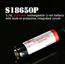 Solarforce S18650P: 18650 Hochleistungsakku - 3,7V /2600 mAhFoto-Akku