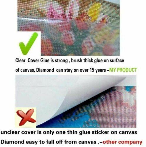 Diamond Painting 5D Full Drill Art Craft Cross Stitch Cat Kits Embroidery Decor