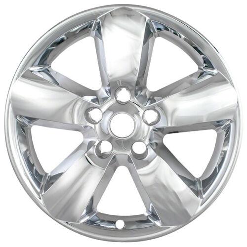 """New Set of 4 20/"""" Chrome Wheel Skins for 2013-2014 Dodge Ram 1500 20"""" Wheels"""