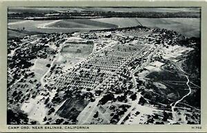 Salinas CA Camp Oro Aerial View Postcard Unused (35271)