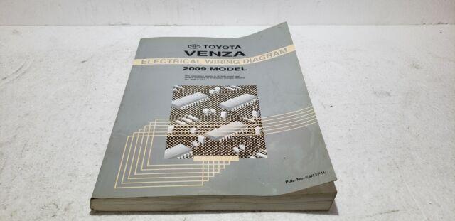 2009 Toyota Venza Oem Electronic Wiring Diagram Manual Ewd