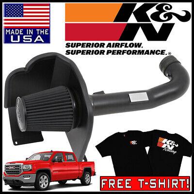 K/&N Cold Air Intake System 2014-2019 Chevy Silverado GMC Sierra 1500 5.3L 6.2L