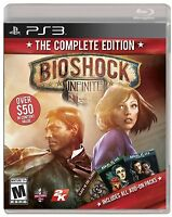 BioShock Infinite -- Complete Edition (Sony PlayStation 3, 2014)