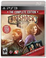 Bioshock Infinite The Complete Edition Ps3 Sony Playstation 3 Brand Sealed
