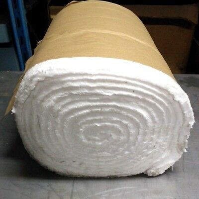 "Kaowool 1//8/""x16/""x24/"" Ceramic Fiber Insulation Blanket 12# Thermal Ceramics 2300F"