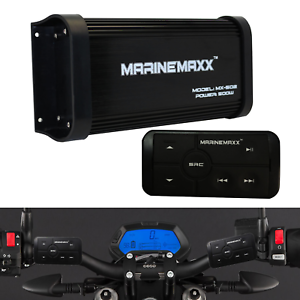 500-Watts-4-Channel-Class-A-B-Motorcycle-Marine-Bluetooth-Amplifier-with-RCA-AUX