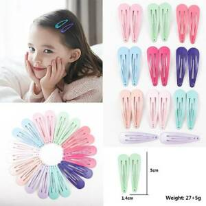 20pcs-5CM-Wholesale-Bulk-Girls-Baby-Kids-Hair-Clips-Snap-Slides-Close-Hairpins