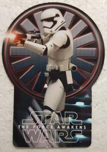 2015-Star-Wars-FORCE-AWAKENS-Limited-Edition-Plastic-Die-Cut-Card-STORMTROOPER