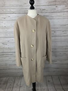 Austin Reed Vintage Overcoat Uk14 Wool Cashmere Great Condition Women S Ebay