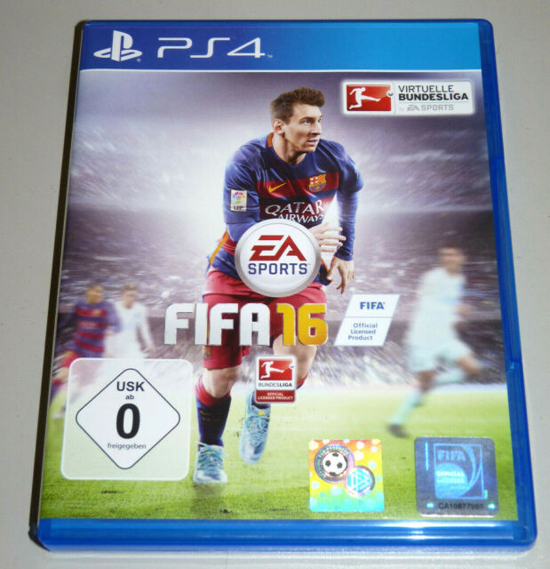 FIFA 16 (Playstation 4) ps4 allemand 2016