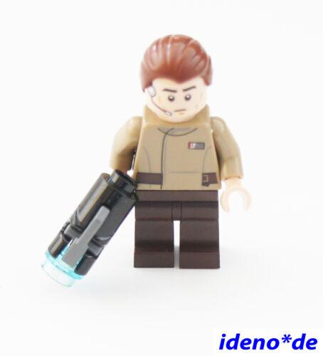 LEGO Star Wars Minifigur aus Set 75131 Resistance Officer  mit Blaster Neu SW23