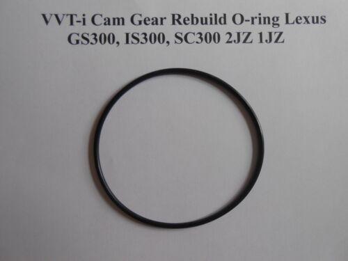 IS300 SC300 2JZ 1JZ VVTI VVT-i Cam Gear Rebuild O-ring Toyota Lexus GS300
