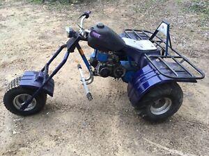 Vintage Three Wheeler Trike Tryke 3 Mini Bike Chopper Ebay