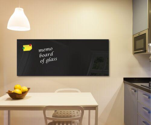 Verre Memo Board Magnétique résistant à la Chaleur Verre Trempé 125 cm x 50 cm Belfast