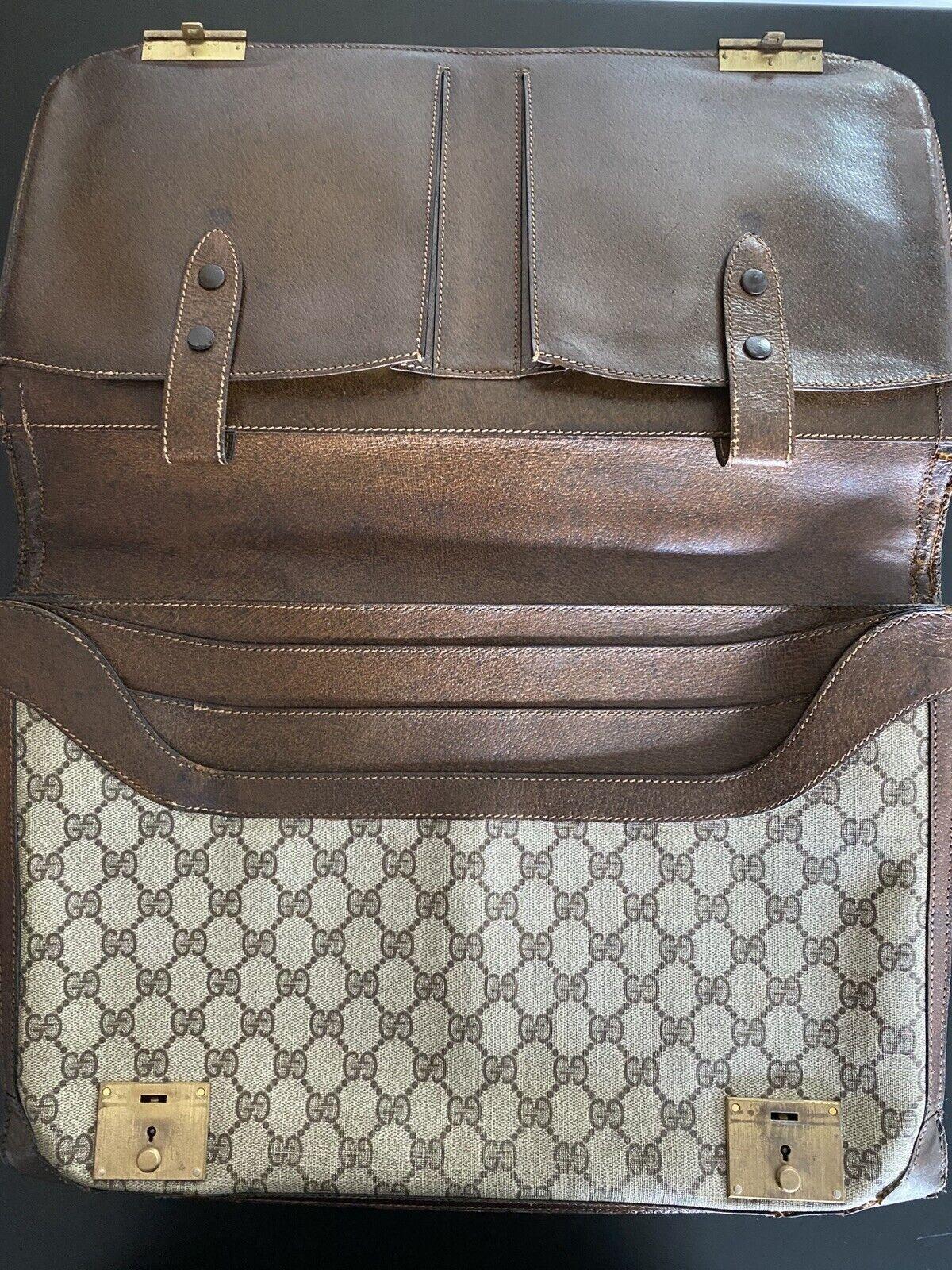 💼Vintage Authentic Gucci Briefcase: 1970s Collec… - image 5