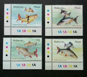 SJ-Fresh-Water-Fish-Series-III-Malaysia-2006-Fauna-Animal-stamp-color-MNH
