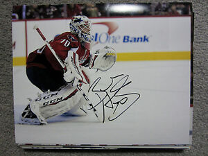 BRADEN HOLTBY Washington Capitals SIGNED Autographed 8X10 Photo w/ COA c