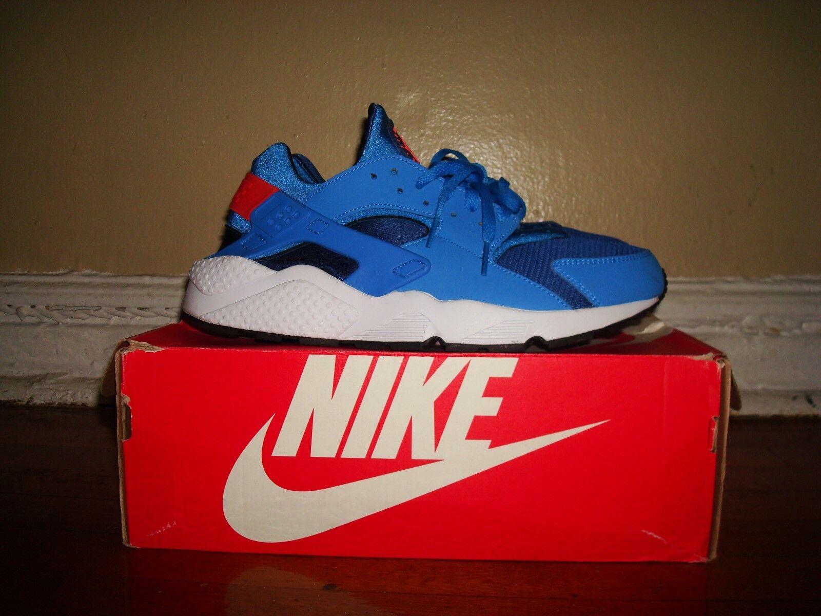 Nike air huarache scarpe / 11.5/ noi 11.5/ / foto blu / 318429 402 e56545
