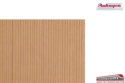 H0 1:87 AUHAGEN 52418 Lastra a trama muro in legno naturale 200 x 100 mm