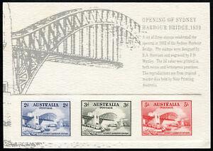 Australia-Replica-Card-23-Sydney-Harbour-Bridge-Opening-Die-Proof