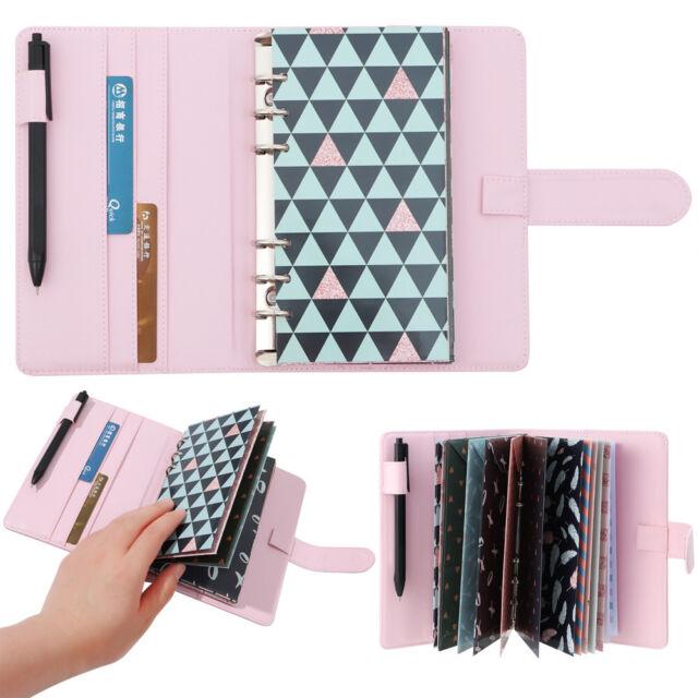 Money Label Sheets Budget Cash Envelopes Binder Cover Cash Plan Notebook
