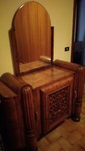 Dettagli su Mobili camera da letto completa anni 30