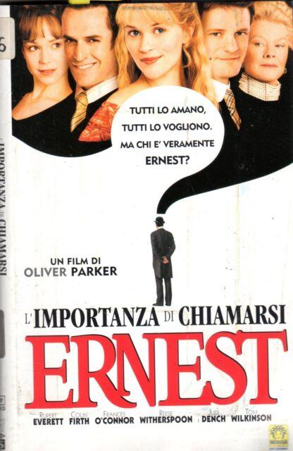 L' importanza di chiamarsi Ernest (2002) VHS Medusa - Oliver Parker