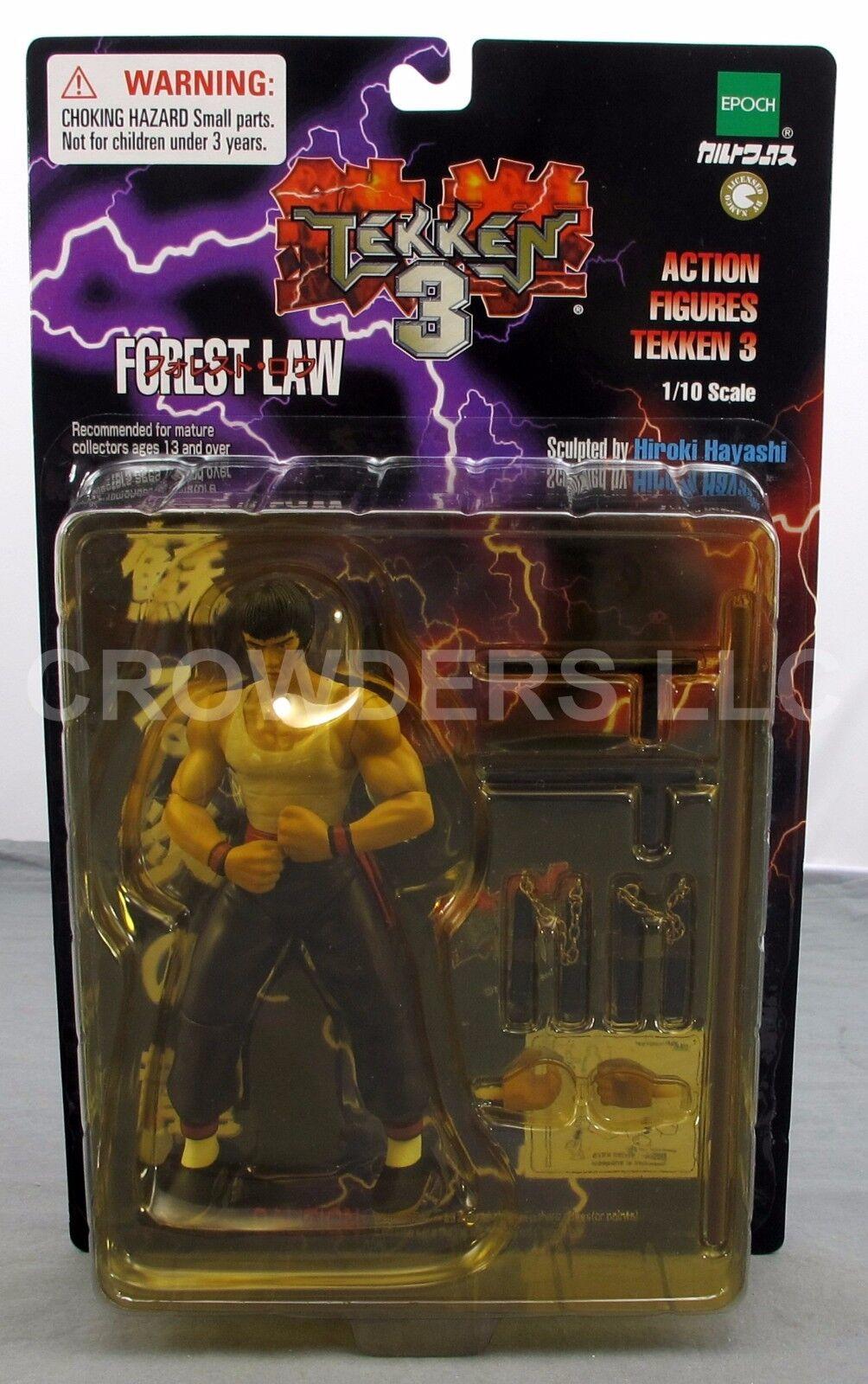 Forest Law Tekken 3 Action Figures Figures Figures 6.5  1 10 Scale Epoch Hiroki Hayashi NIP '00 434bad
