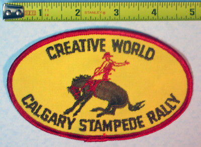 Calgary Stampede Rally Vintage Rodeo Jacket Patch Creative
