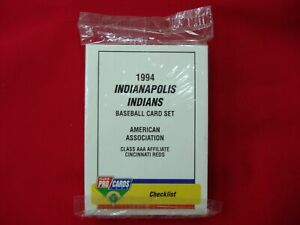 1994-INDIANAPOLIS-INDIANS-MINOR-LEAGUE-TEAM-SET-FLEER-PROCARDS-FACT-SEALED-NICE