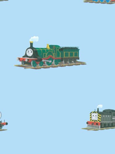 Thomas the Train on Blue York Wallpaper YH1410
