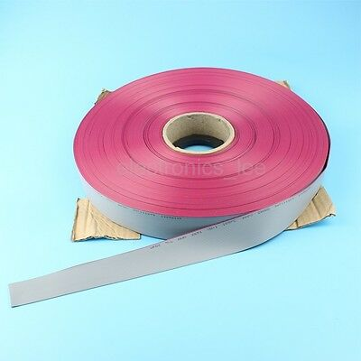 1M meter 26 way pin gray flat ribbon cable 1.27mm pitch for 2.54mm FC connectors
