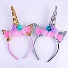 Magical Unicorn Horn Head Hair Headband Fancy Dress Party Cosplay Decorative