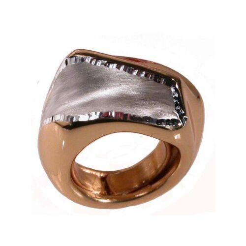 ANELLO DONNA IN ARGENTO,anello diamantato satinato dorato tutto argento 925//1000