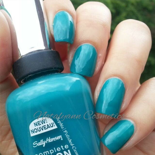Sally Hansen Complete Salon Manicure Shade 673 Blue Streak 14.7 Ml ...