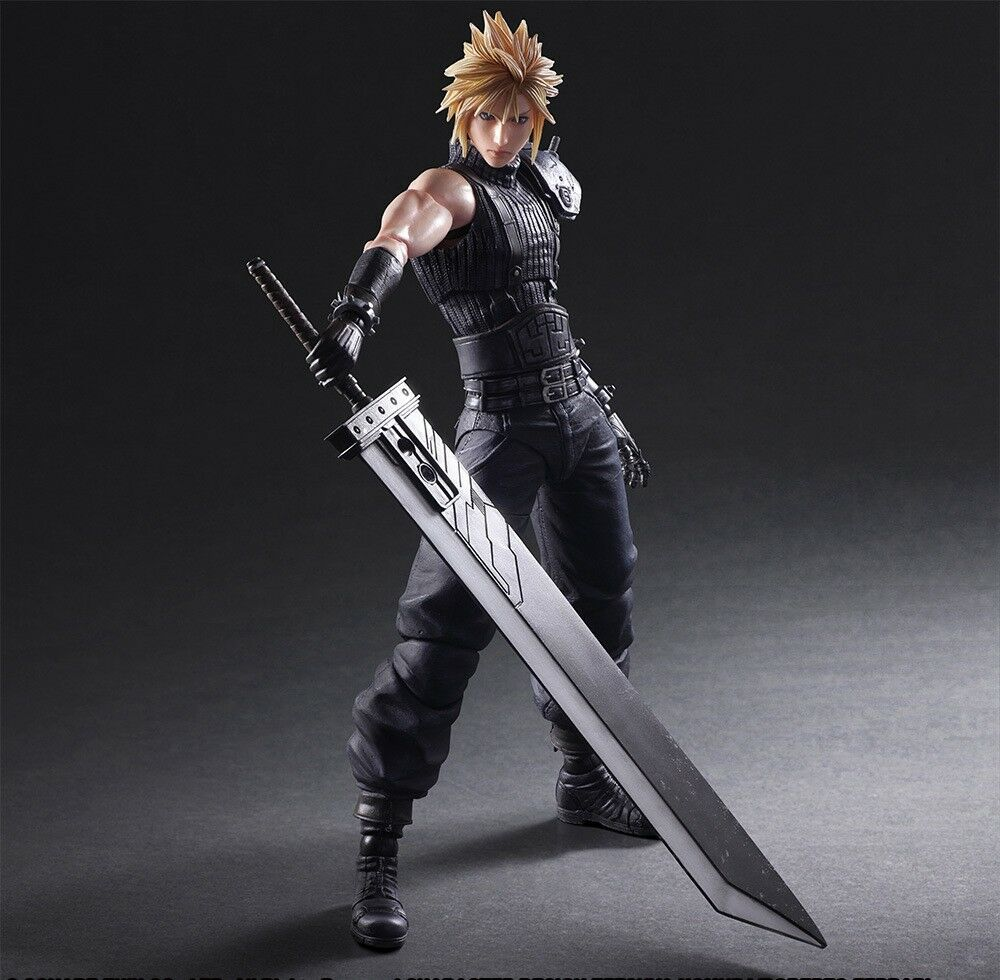 "Spielen kunst kai ""final fantasy vii 7 remake cloud  action - figur"