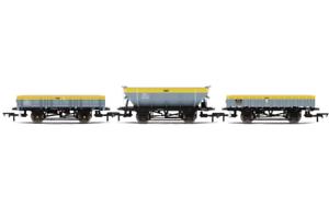 Hornby R6893 Lot de 3 Rudd Palourde Tope Wagon Db 970298 Neuf