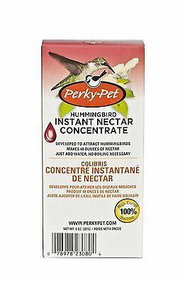 Perky Pet Hummingbird Instant Nectar Concentrate, Makes 48 ounces